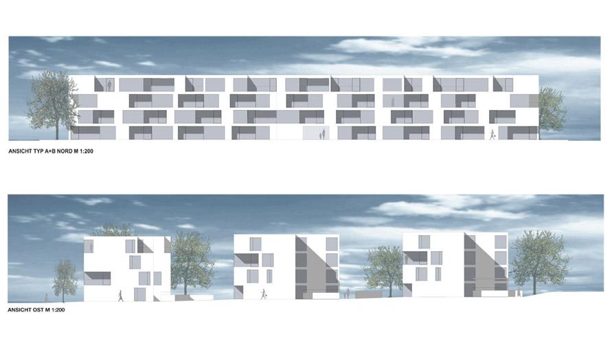 Ansicht Architektur straub architektur